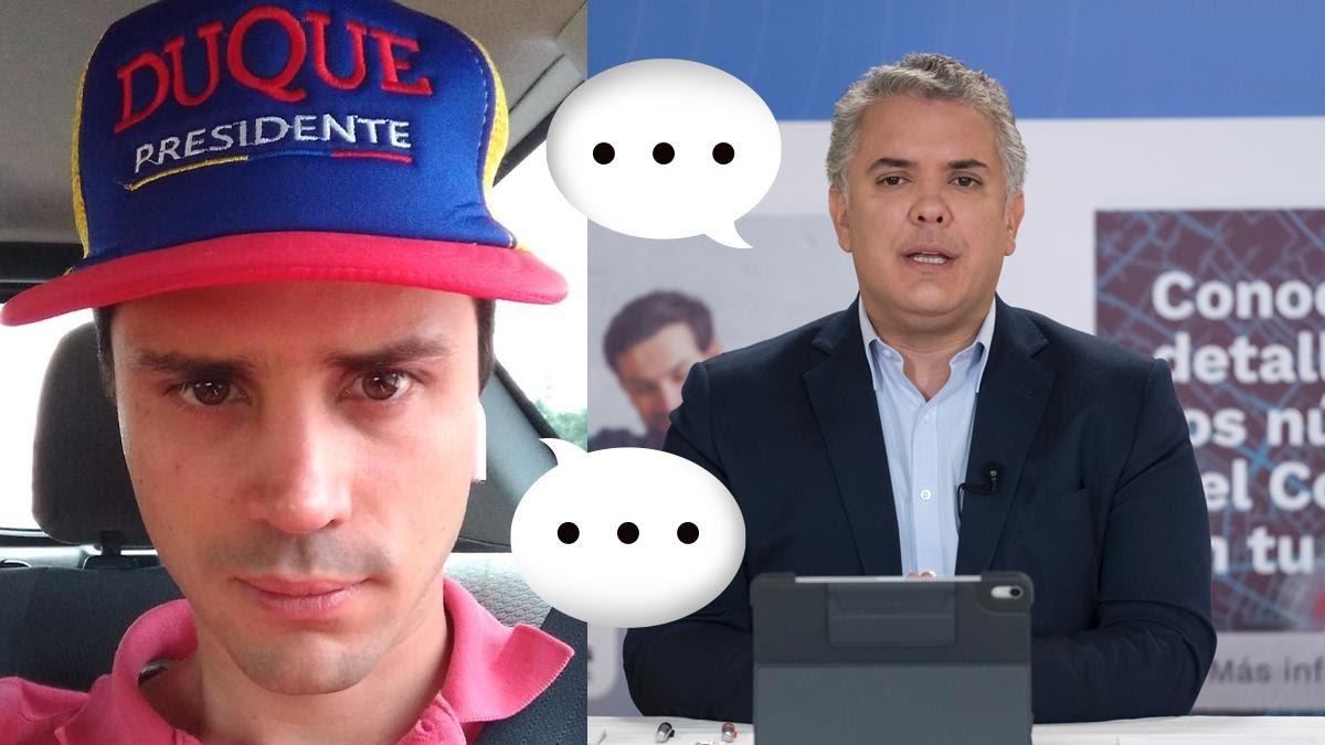 Reacciones al encuentro de Iván Duque y Tomás Uribe